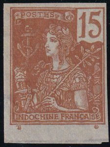 Indo China 1904-1906 SC 29a Mint Imperf