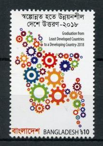 Bangladesh 2018 MNH Graduation Least Developed Developing Country 1v Set Stamps
