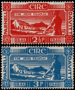 ✔️ IRELAND 1946 - PLOWMAN - SC. 133/134 MNH OG [IR0098]