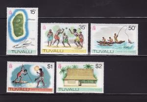 Tuvalu 30, 33-36 MNH Various (A)