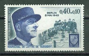France # B442 Marshal de Tassigny - Berlin Fall (1) Mint  NH