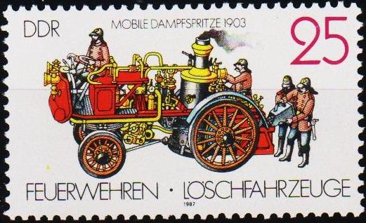 Germany(DDR). 1987 25pf  S.G.E2809 Unmounted Mint