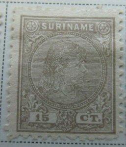 Surinam 1892-93 15c Fine MNG A13P9F938