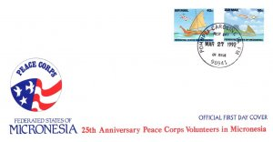 Micronesia, Worldwide First Day Cover, Aviation
