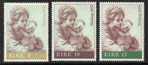 IRELAND SG433/5 1978 CHRISTMAS MNH