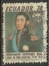 ECUADOR C624 VFU  Z1702-2