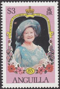 Anguilla #621 Queen Mother 85th Birthday MNH