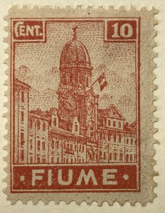 AlexStamps FIUME #30 VF Mint