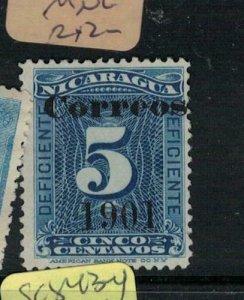 Nicaragua SC 139 MNG (3emr)