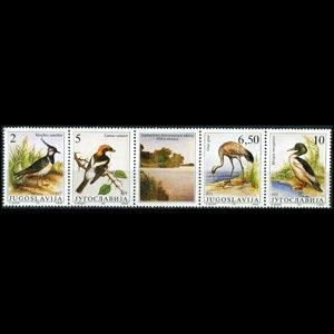 YUGOSLAVIA 1991 - Scott# 2086 Birds Set of 4 NH