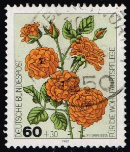 Germany #B601 Floribunda; Used (0.60)