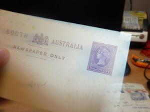 South Australia 1/2d purple wrapper unused  (67bef)