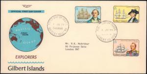 Gilbert & Ellice Islands, Worldwide First Day Cover