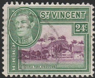 St. Vincent,  #164  Used From 1949