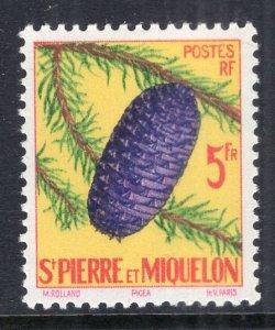 St Pierre and Miquelon 357 Pine Cone MNH VF