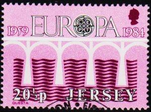 Jersey. 1984 20 1/2p S.G.332 Fine Used