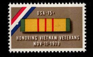 USA Scott 1802 Vietnam Veteran ribbon stamp