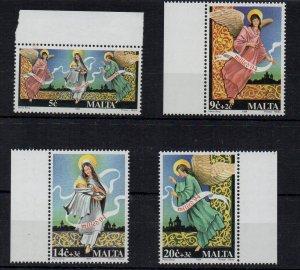 MALTA - 1994 - CHRISTMAS - ANGELS -