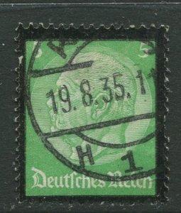 STAMP STATION PERTH Germany #437 Hindenburg Memorial Type 1934 - Used CV$0.60