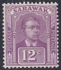 SARAWAK 1918 RAJA VYNER BROOKE 12C