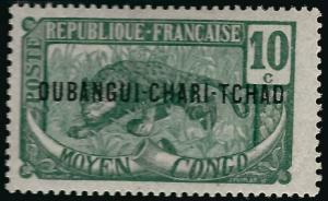 Ubangi-Shari Sc #7 F-VF MNH French Colonies are Hot!