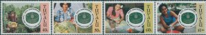 Tuvalu 1995 SG728-731 Food and Agriculture set MNH