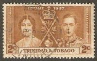 Trinidad & Tobago Used Sc 48 -  Coronation Issue