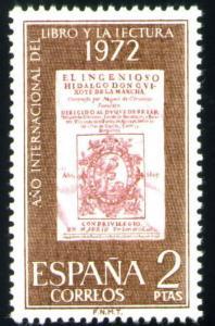 Spain Scott 1703 MNH** Quixote stamp  1972