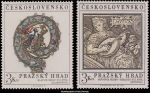 Czechoslovakia Scott 1752-1753 Mint never hinged.