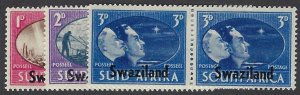 pb3406 Swaziland 38-40 MNH, cv 2.40 bin $1.50