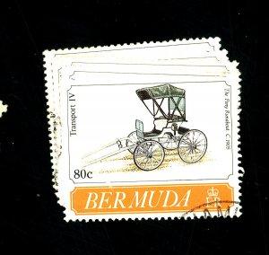 Bermuda #607-12 Used FVF Cat$12.50