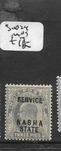 INDIA NABHA (P2701B) KE 3P  SG O24  MOG