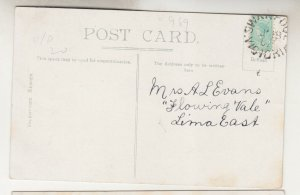 VICTORIA, SWANPOOL cds., 1907 British ppc. The Mill Wheel, 1/2d. to Lima East.