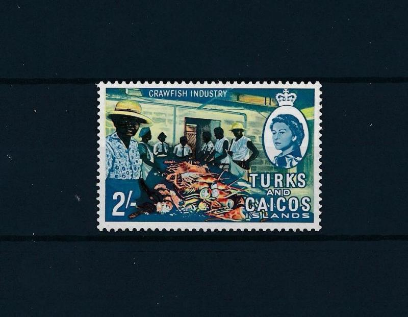 [46799] Turks and Caicos Islands 1967 Marine life Craw fish industry MNH