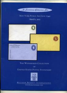 Bennet Auction #342 of Postal Stationary