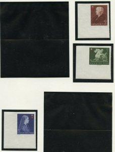 HUNGARY SCOTT#B148/50 IMPERF  MINT NEVER HINGED AS SHOWN--SCOTT VALUE $9.00