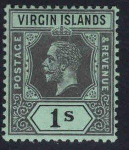 Virgin Islands  Scott 44 MH* KGV wmk 3, die 1