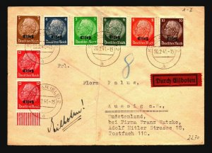Germany (Alsace) 1941 Durch Gilboten Cover / Fold - Z17148