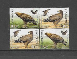 BIRDS - AZERBAIJAN #1112  MNH