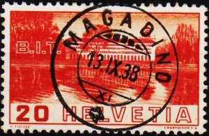 Switzerland. 1938 20c S.G.382 Fine Used