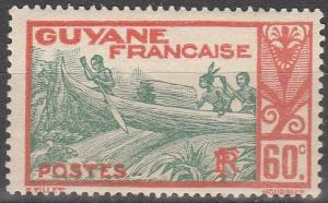 French Guiana #126 F-VF Unused (V4099)