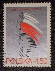 Poland Scott #2349 used