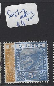 MALAYA  SUNGEI UJONG   (PP2507B)  2C-5C   TIGER   SG  51-2   MOG