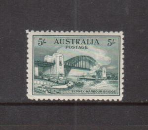 Australia #132 Very Fine Mint Original Gum Hinged