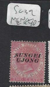 MALAYA SUNGEI UJONG (P0702B)  QV  2C   SG 39    MNG