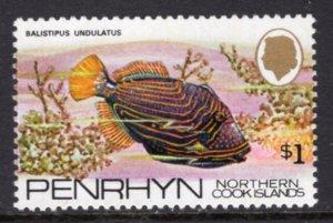 Penrhyn Island 61 Fish MNH VF