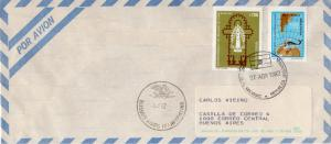 Argentina Islas Malvinas 1982 Cover to Buenos Aires 27.04.1982 Postal History
