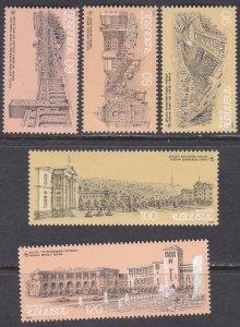 Armenia Sc #515-519 MNH