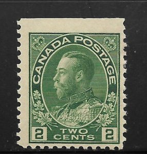 CANADA, 107, MINT HINGED, KING GEORGE V