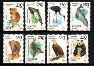 Russia  6184 - 6191   MNH cat $ 4.00